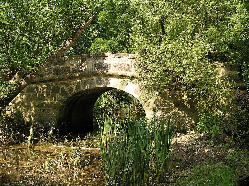 Photo du Monument Historique Pont du Cocuron situé à Merpins