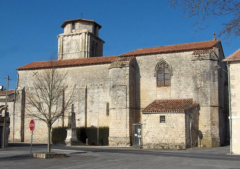 Photo du Monument Historique Eglise Notre-Dame situé à Vouharte