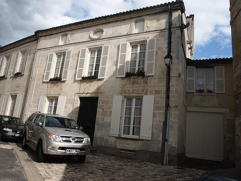 Photo du Monument Historique Hôtel Verdelin situé à Cognac