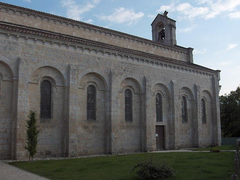Photo du Monument Historique Eglise Saint-Jean-Baptiste situé à Ronsenac
