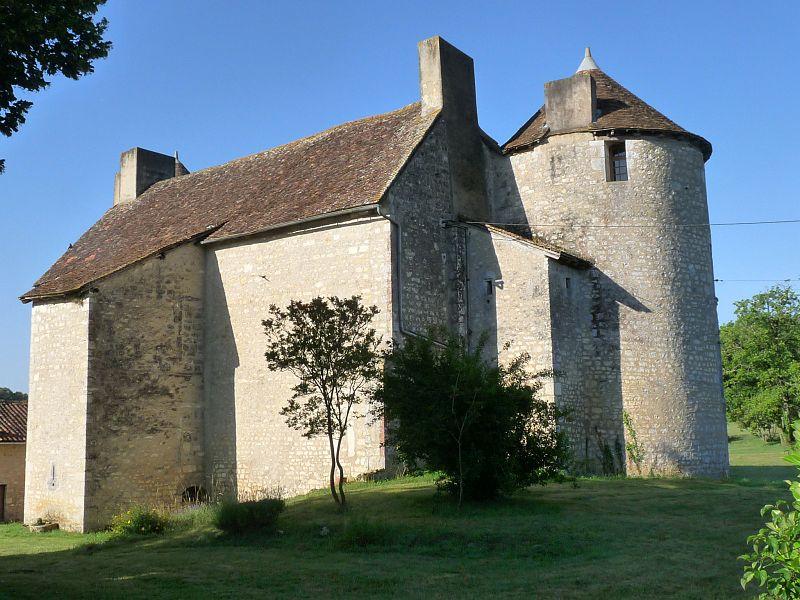 Photo du Monument Historique Château de Bourgon situé à Valence
