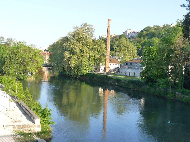 Photo du Monument Historique Ancienne papeterie de Saint-Cybard-le-Nil situé à Angoulême