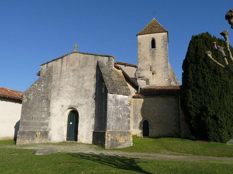 Photo du Monument Historique Eglise de Saint-Hilaire situé à Barbezieux-Saint-Hilaire