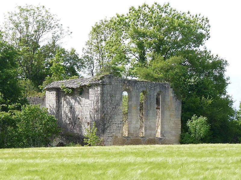 Photo du Monument Historique Commanderie de Templiers, dite Chapelle du Courreau situé à Maine-de-Boixe