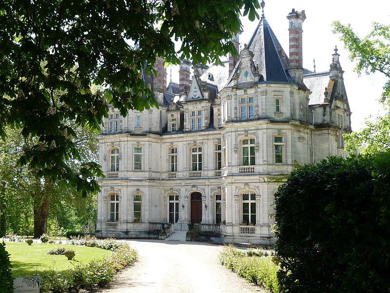 Photo du Monument Historique Château Saint-Martial situé à Jarnac