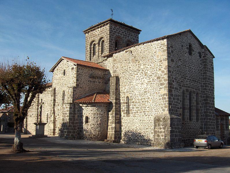 Photo du Monument Historique Église Saint-Jean Baptiste situé à Chassenon