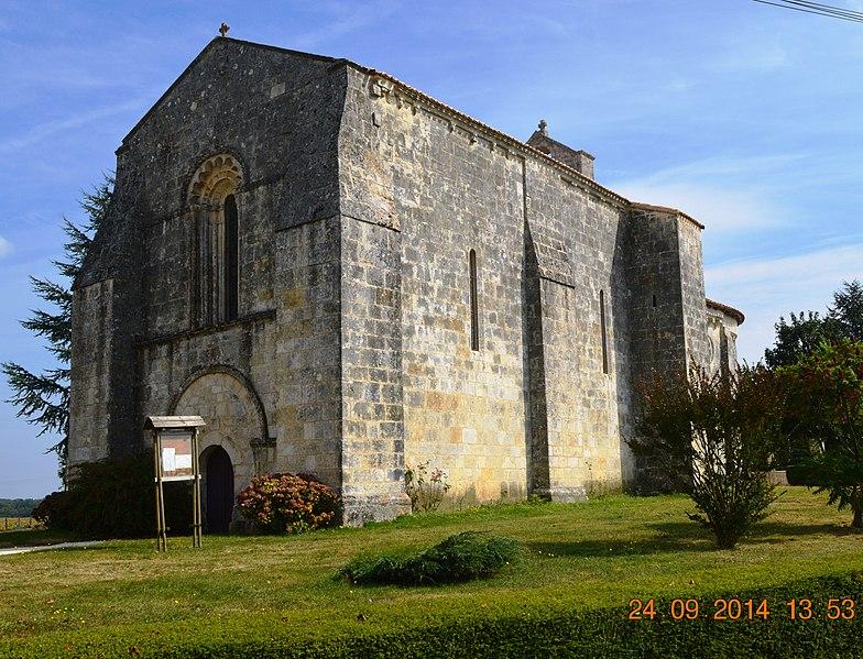 Photo du Monument Historique Eglise Saint-Martin situé à Allas-Bocage