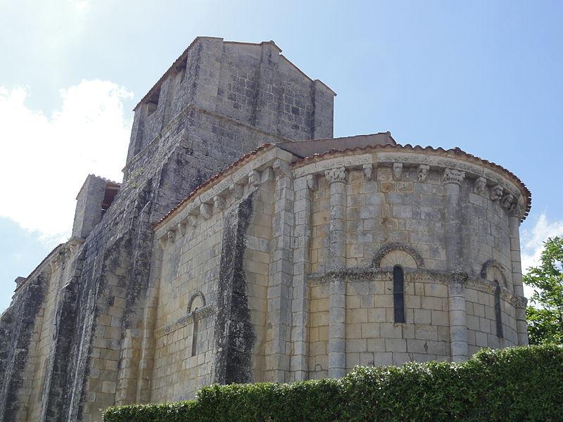 Photo du Monument Historique Eglise Saint-André situé à Annepont