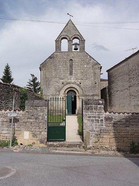 Photo du Monument Historique Eglise Notre-Dame de Salles situé à Aulnay