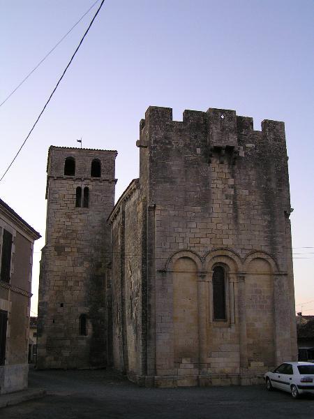 Photo du Monument Historique Eglise Notre-Dame situé à Authon-Ebéon