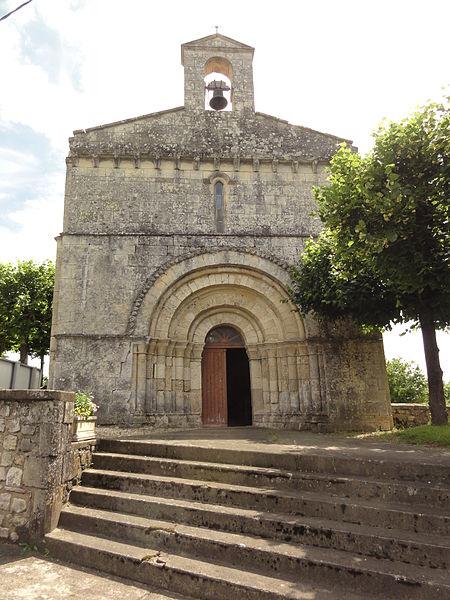 Photo du Monument Historique Eglise paroissiale Saint-Jacques situé à Belluire