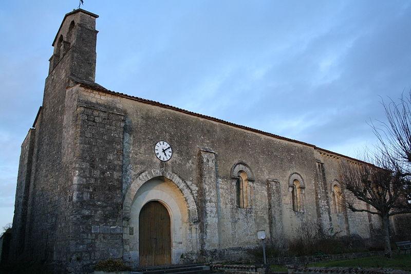 Photo du Monument Historique Eglise Saint-Martin situé à Bernay-Saint-Martin