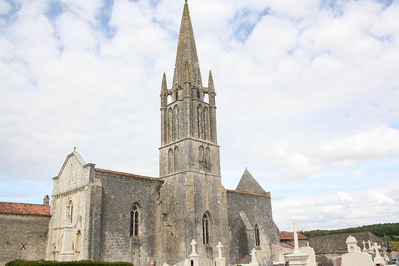 Photo du Monument Historique Eglise de la Trinité situé à Bignay