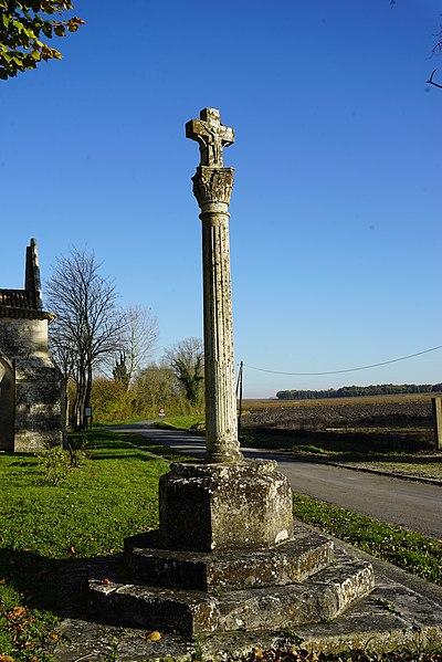 Photo du Monument Historique Calvaire situé à Biron