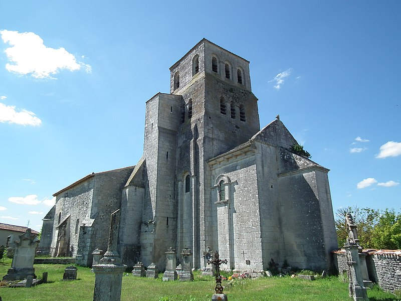Photo du Monument Historique Eglise Saint-Pierre situé à Bougneau