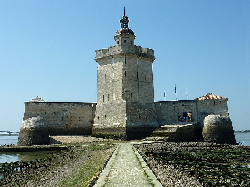 Photo du Monument Historique Fort du Chapus situé à Bourcefranc-le-Chapus