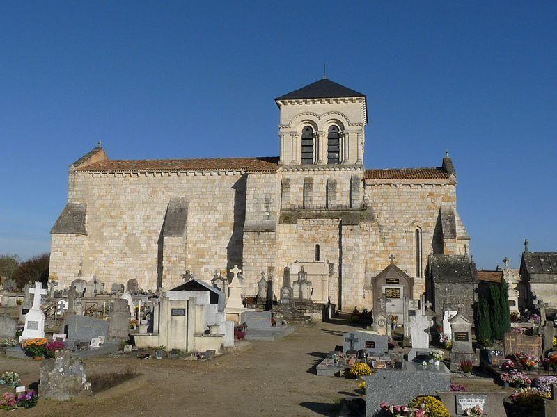 Photo du Monument Historique Eglise Saint-Etienne situé à Chepniers