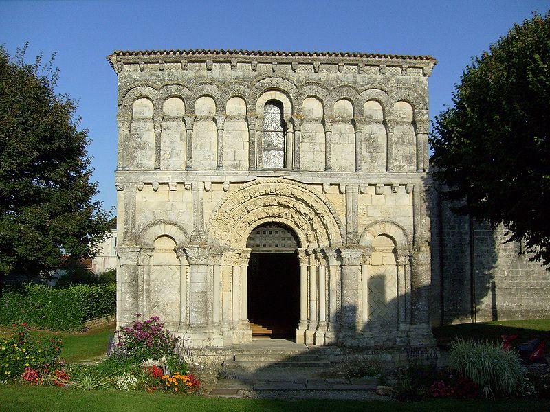 Photo du Monument Historique Eglise Notre-Dame situé à Echillais