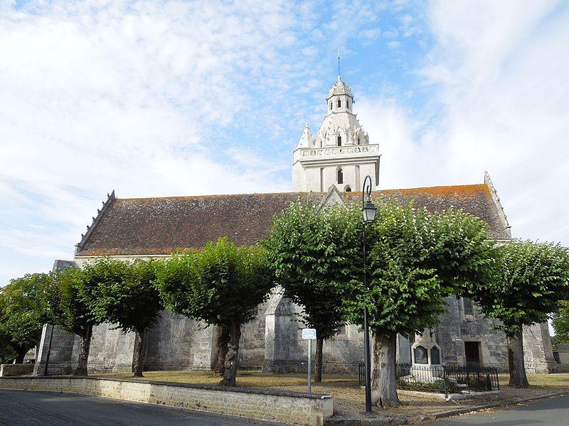 Photo du Monument Historique Eglise Saint-Pierre situé à Fléac-sur-Seugne