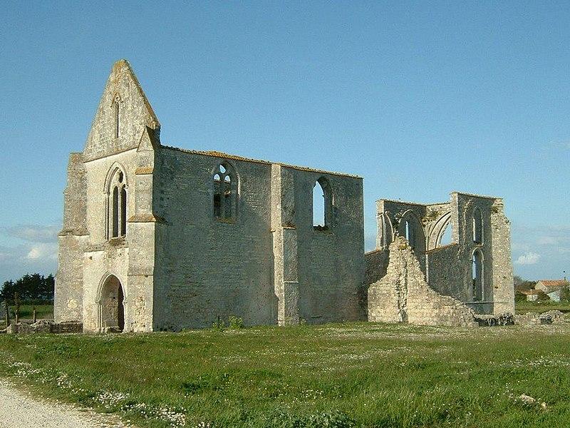 Photo du Monument Historique Ancienne abbaye Notre-Dame de Ré, dite des Châteliers situé à La Flotte