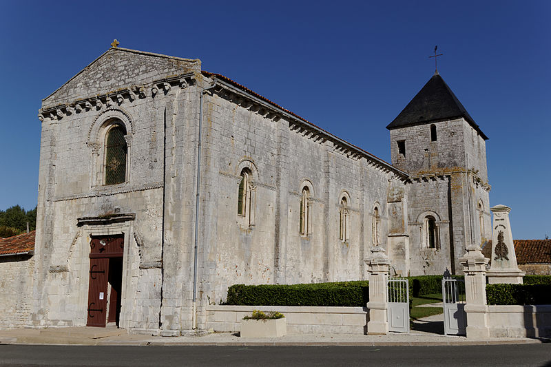 Photo du Monument Historique Eglise Saint-Vincent situé à Fontenet