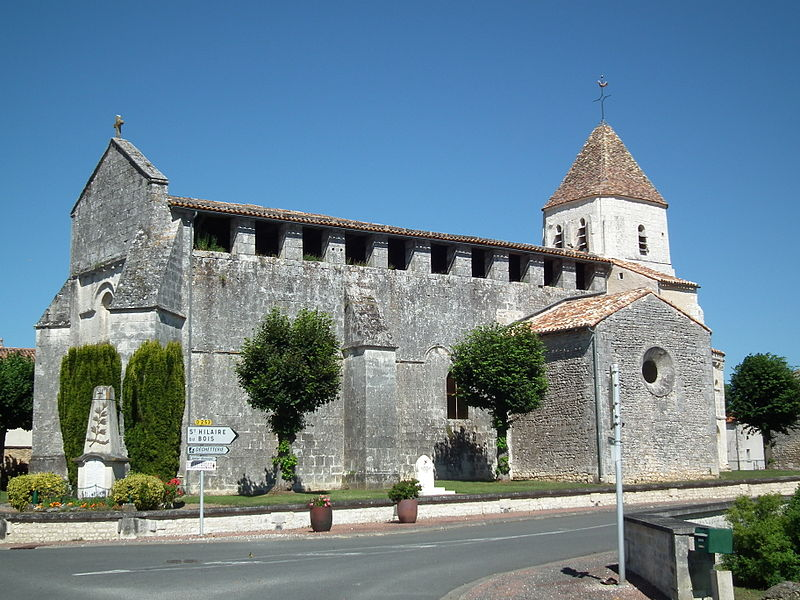 Photo du Monument Historique Eglise Saint-Romain situé à Guitinières