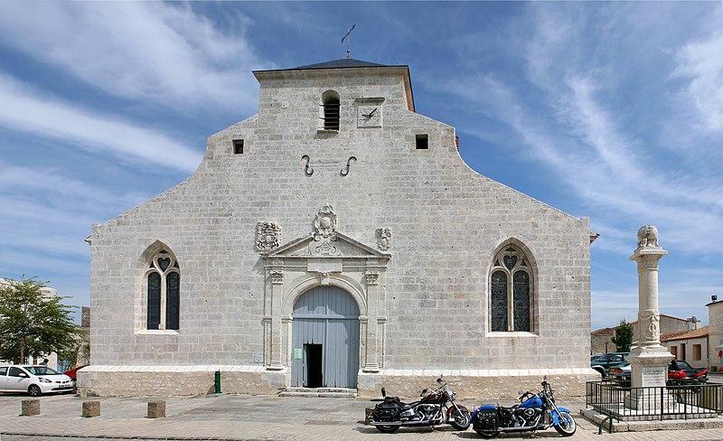 Photo du Monument Historique Eglise Saint-Pierre situé à Hiers-Brouage