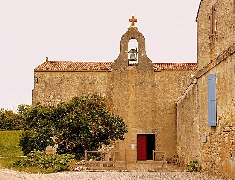 Photo du Monument Historique Eglise Saint-Martin situé à Ile-d'Aix