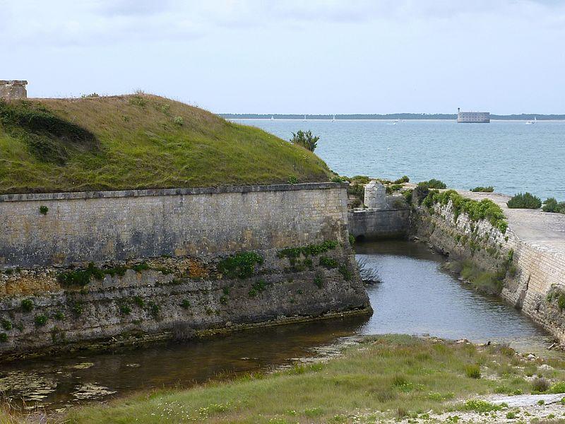 Photo du Monument Historique Fortifications situé à Ile-d'Aix