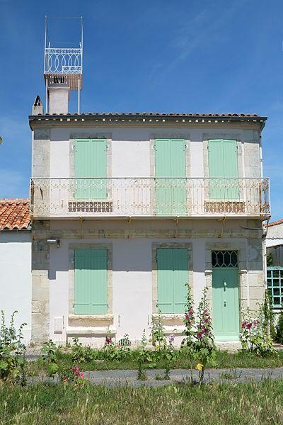 Photo du Monument Historique Maison Gourgaud situé à Ile-d'Aix