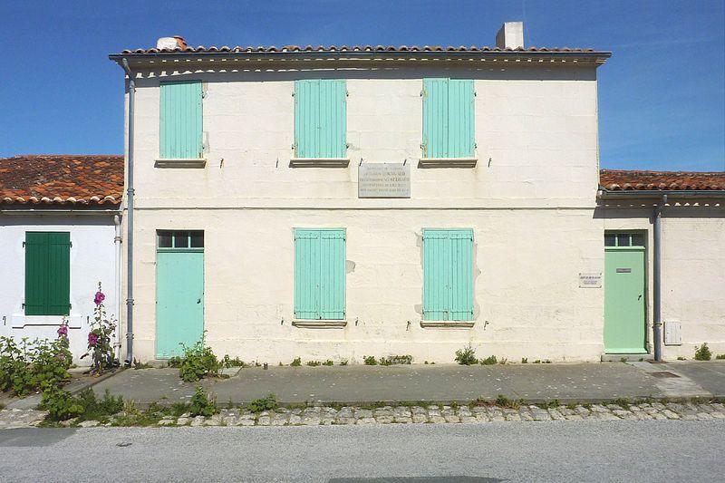 Photo du Monument Historique Maisons Gourgaud situé à Ile-d'Aix