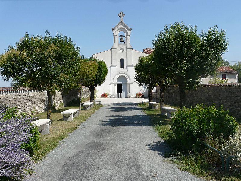 Photo du Monument Historique Eglise Sainte-Madeleine situé à La Jarrie-Audouin