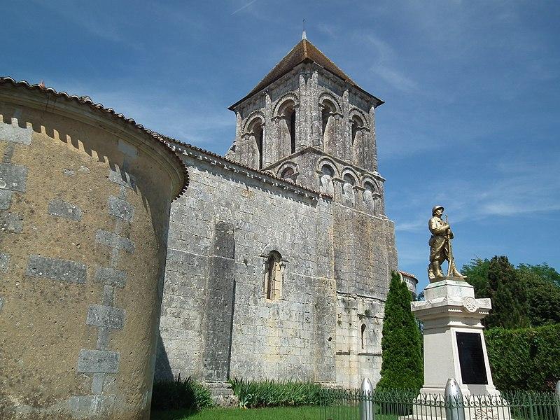 Photo du Monument Historique Eglise Notre-Dame situé à Jazennes