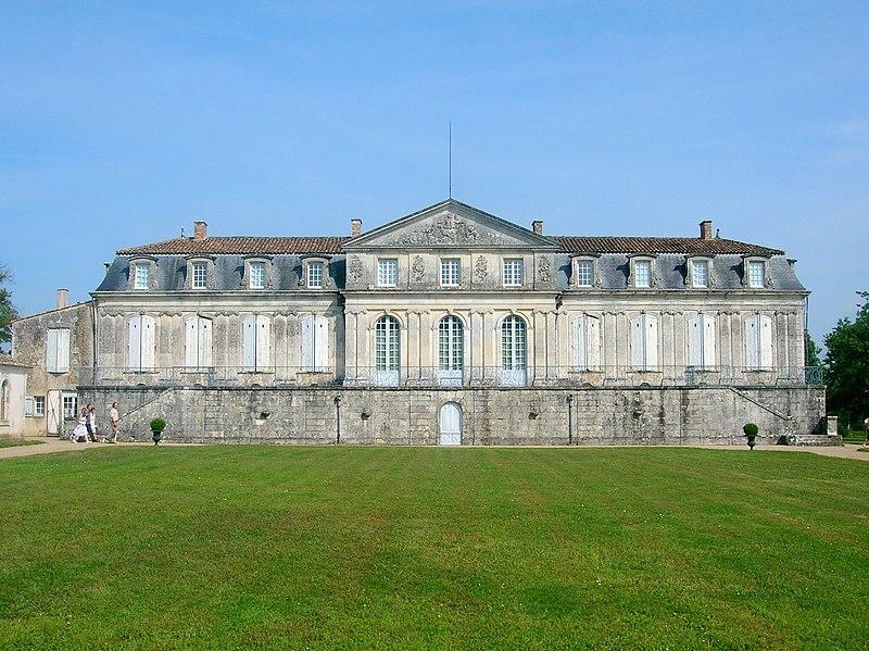 Photo du Monument Historique Château de la Gataudière situé à Marennes