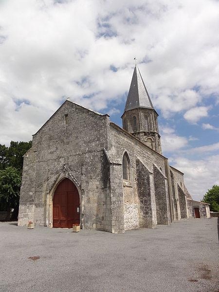 Photo du Monument Historique Eglise de la Nativité de la Sainte-Vierge situé à Mazeray