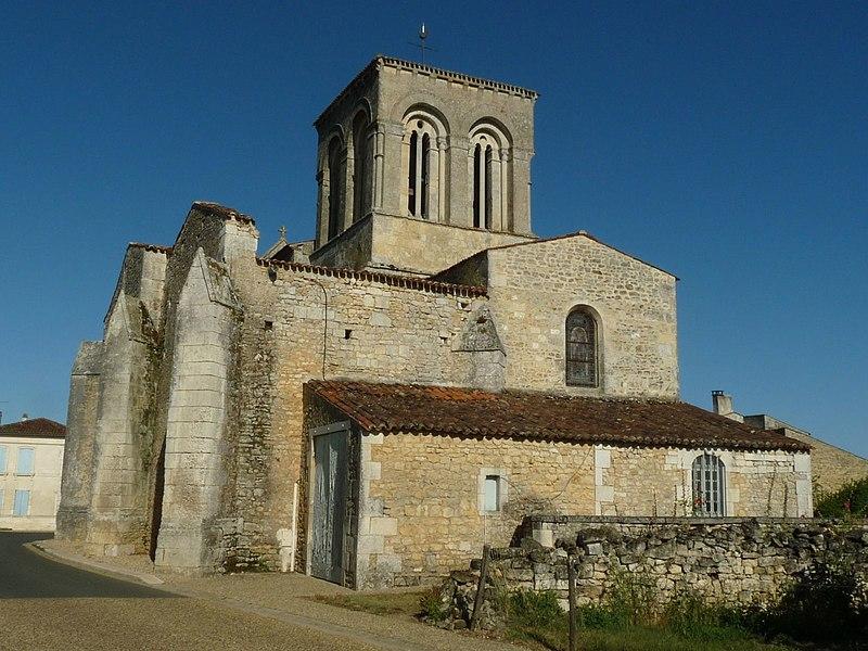 Photo du Monument Historique Eglise Saint-Martin situé à Montpellier-de-Médillan