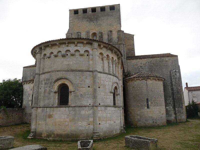 Photo du Monument Historique Eglise Saint-Pierre situé à Mornac-sur-Seudre