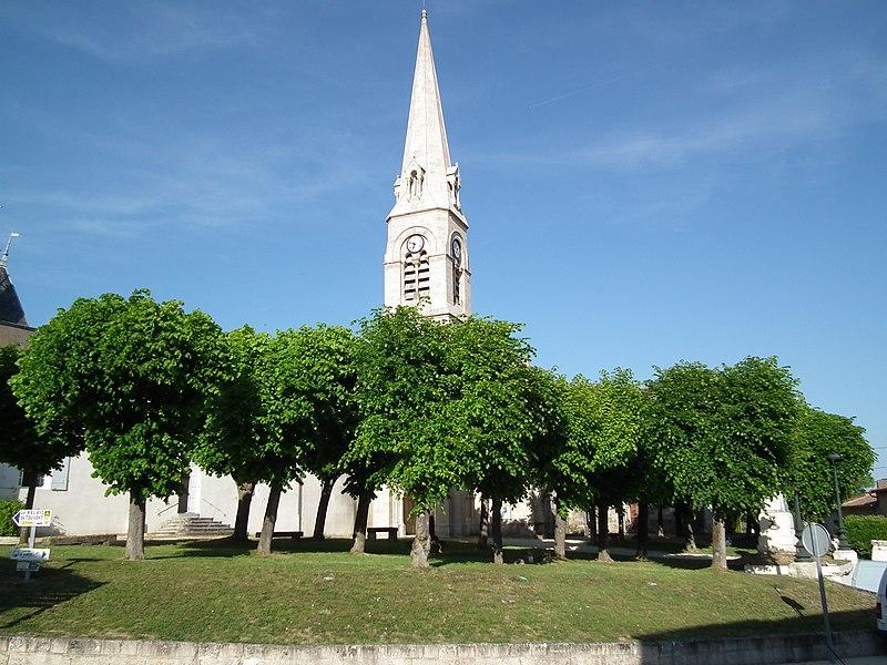 Photo du Monument Historique Eglise Saint-Etienne situé à Mortagne-sur-Gironde