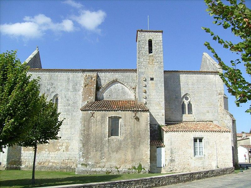 Photo du Monument Historique Eglise de la Nativité de la Sainte-Vierge situé à Nancras