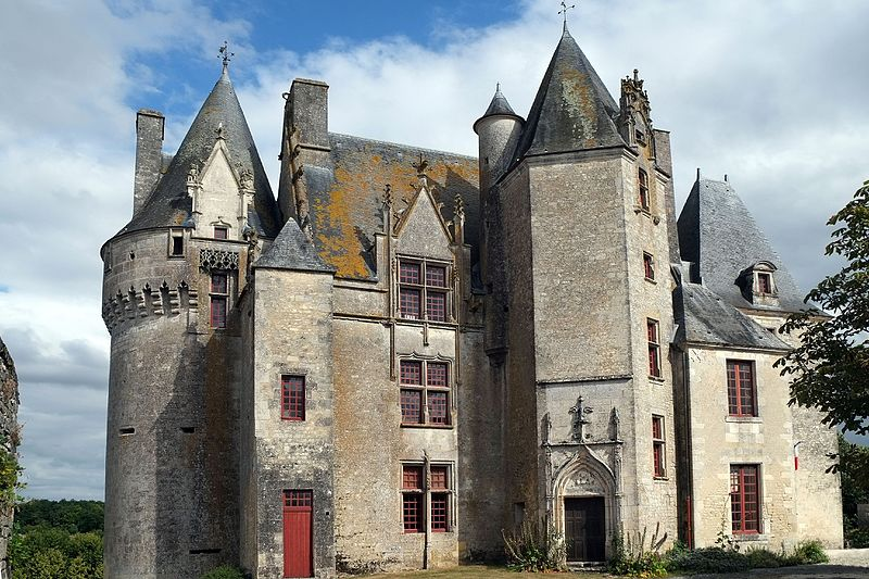 Photo du Monument Historique Ancien château situé à Neuvicq-le-Château