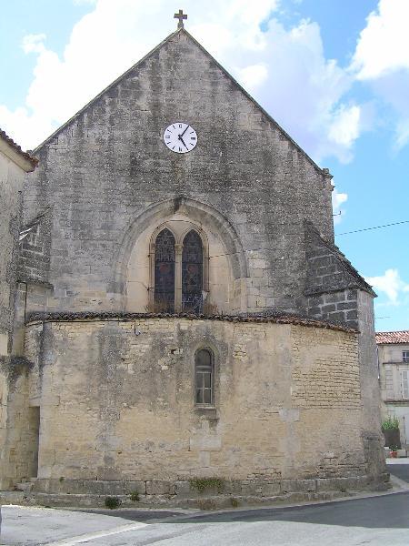 Photo du Monument Historique Eglise Saint-Laurent situé à Neuvicq-le-Château