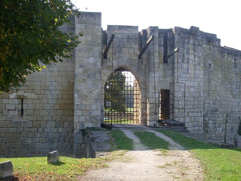 Photo du Monument Historique Château situé à Nieul-lès-Saintes