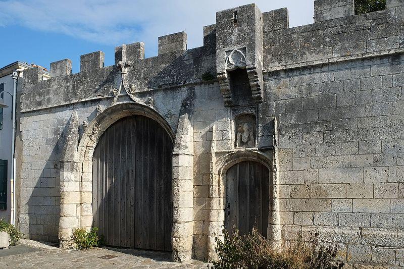 Photo du Monument Historique Ancien domaine du Portail situé à Nieul-sur-Mer