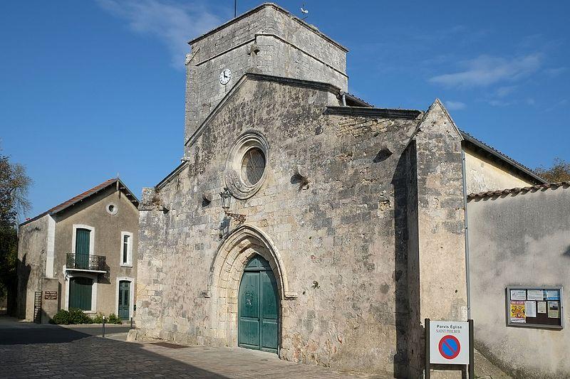Photo du Monument Historique Eglise Saint-Philibert situé à Nieul-sur-Mer