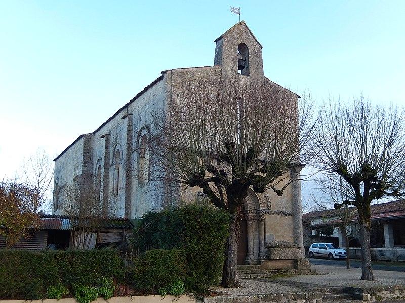 Photo du Monument Historique Eglise Notre-Dame situé à Nuaillé-sur-Boutonne
