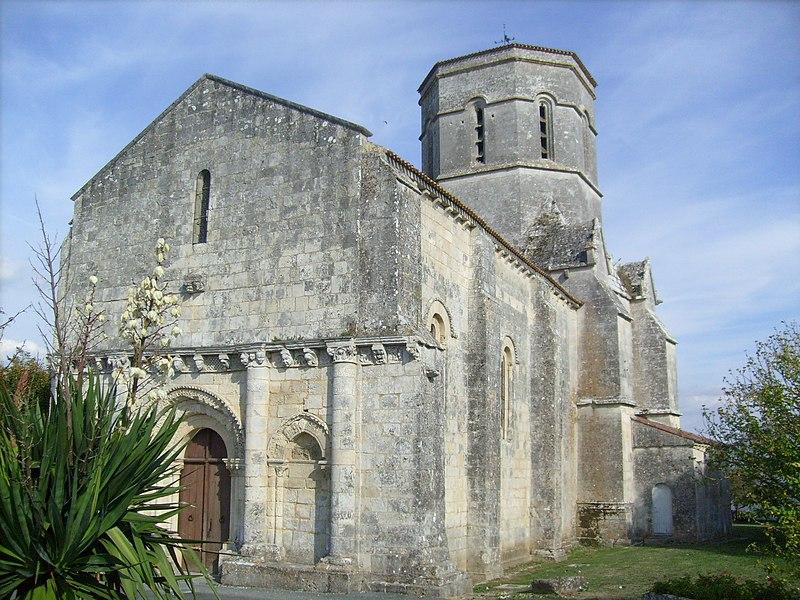 Photo du Monument Historique Eglise Saint-Trojan situé à Rétaud