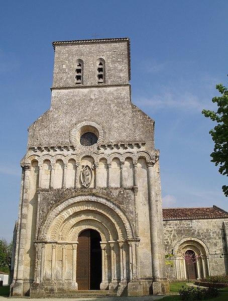 Photo du Monument Historique Eglise Notre-Dame de l'Assomption situé à Rioux