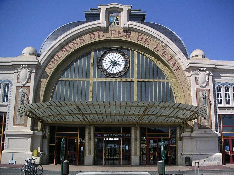 Photo du Monument Historique Gare situé à Rochefort
