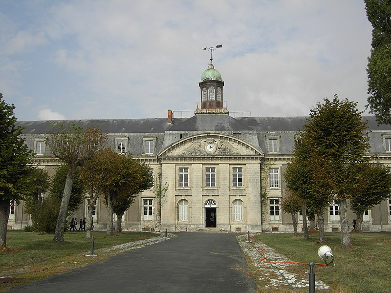 Photo du Monument Historique Hôpital maritime situé à Rochefort
