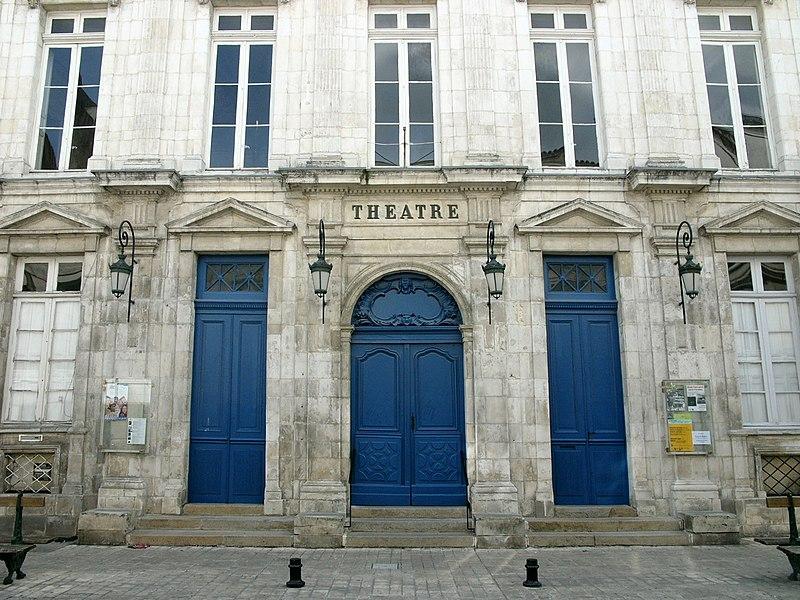 Photo du Monument Historique Théâtre municipal, dit de la Coupe d'Or situé à Rochefort
